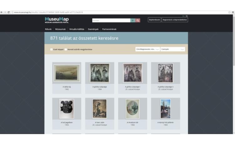 Képzőművészeti gyűjtemény a MuseuMap-en