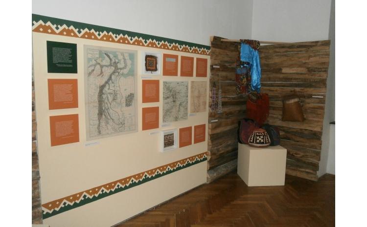 """Részlet az """"Utazás az ismeretlenbe"""" c. kiállításból"""